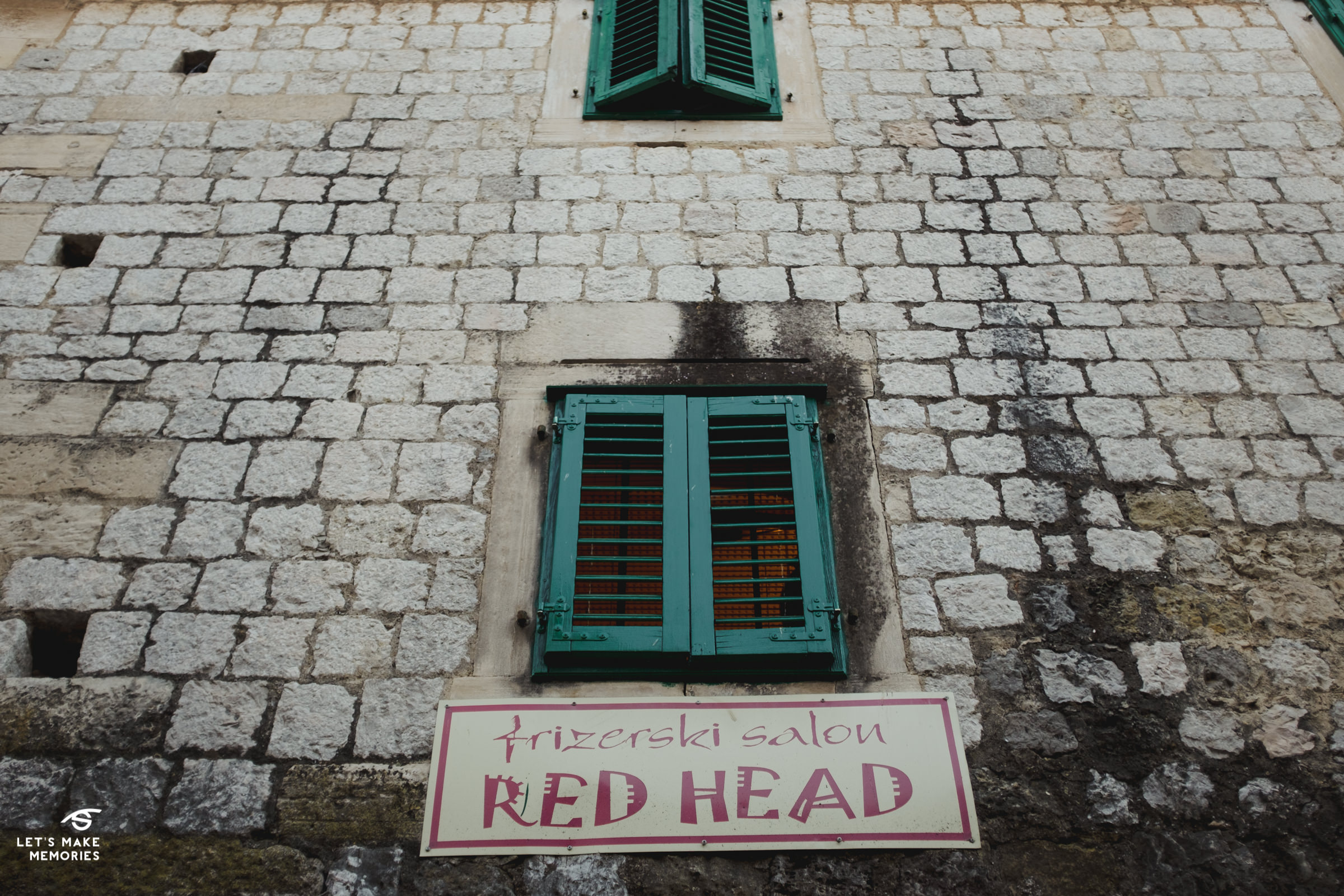 red head hair salon in Sinj, Croatia