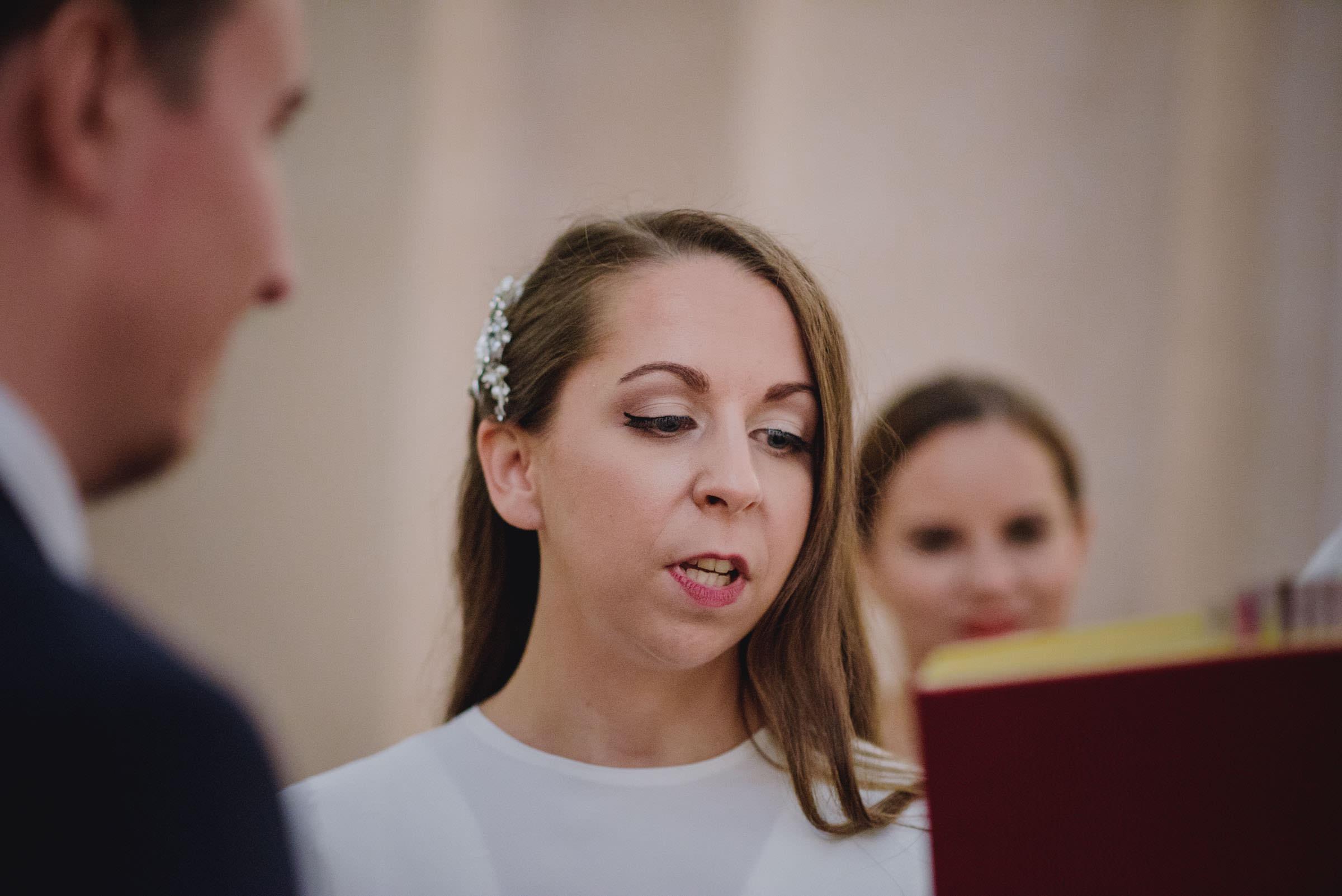 bride reading wovs