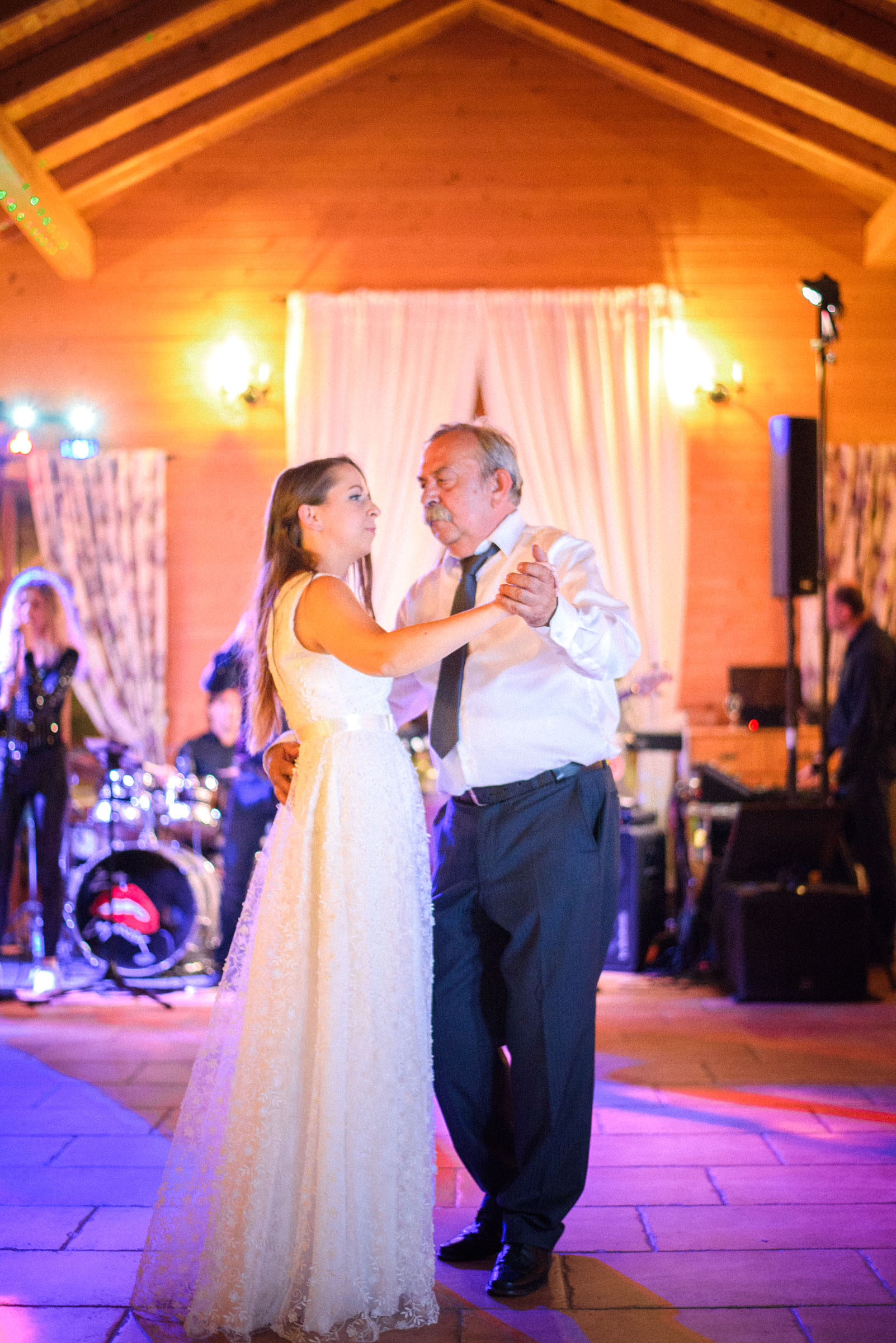bride and her father sharing a dance