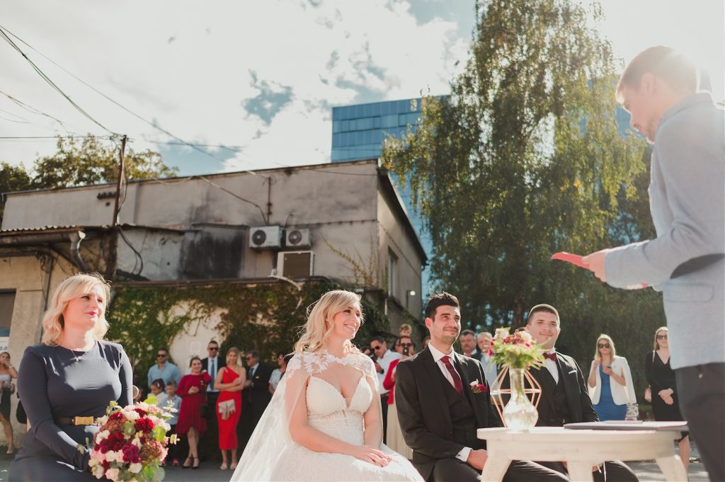 wedding ceremony at studio katran zagreb