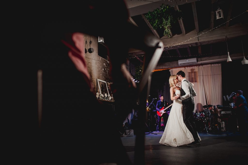 first dance at studio katran wedding zagreb