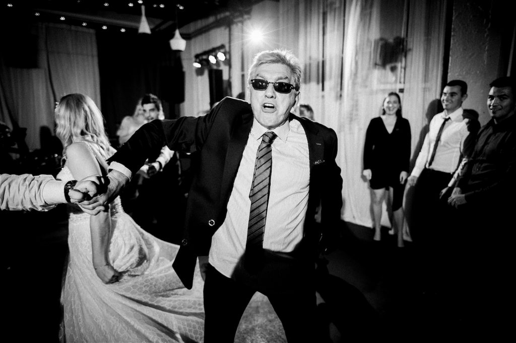 wild party at wedding in studio katran zagreb